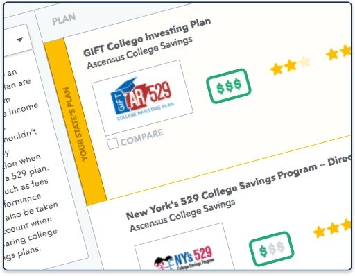 529 plan comparison tool for individuals